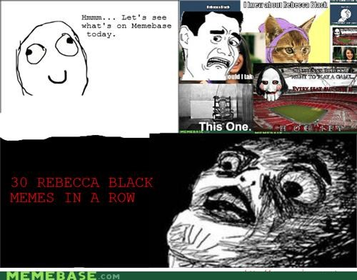 black FRIDAY Rage Comics raisins-super-fuuuu rebecca - 4571636736