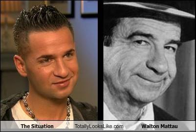 actors jersey shore reality star the situation walter matthau