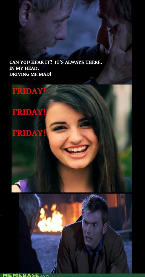 doctor who,earworm,FRIDAY,rebecca,the master,Whovian