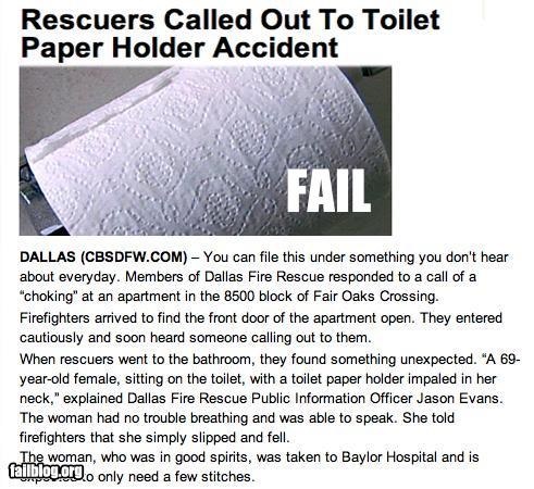 bathroom emergency call failboat g rated injuries ouch Probably bad News yikes - 4572084736
