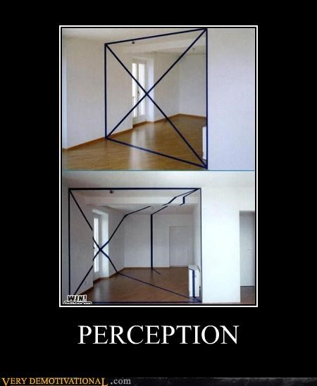 confusing lines perception