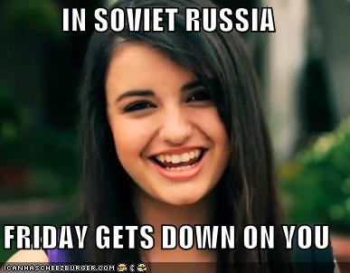 FRIDAY Not Even Once rebecca Soviet Russia - 4572143872