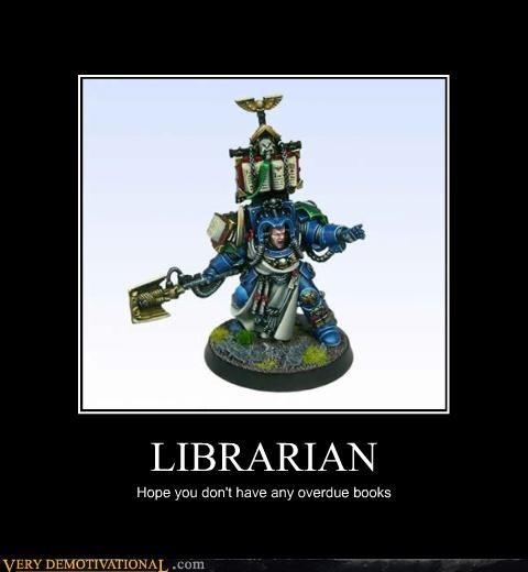 books librarian warhammer - 4572369664