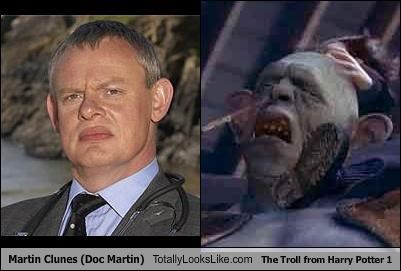 actors,cgi,doc martin,Harry Potter,martin clunes,movies,troll