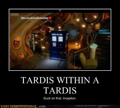 Inception,take that,tardis