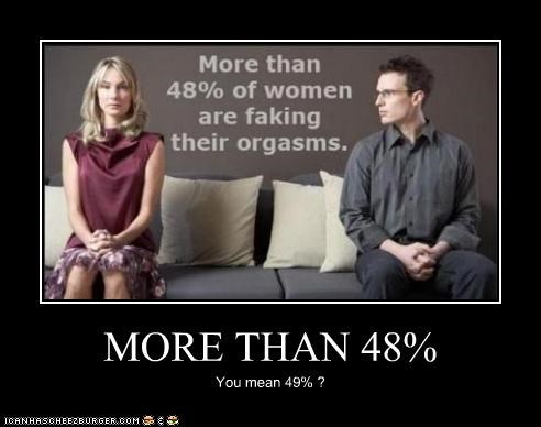 MORE THAN 48% You mean 49% ?