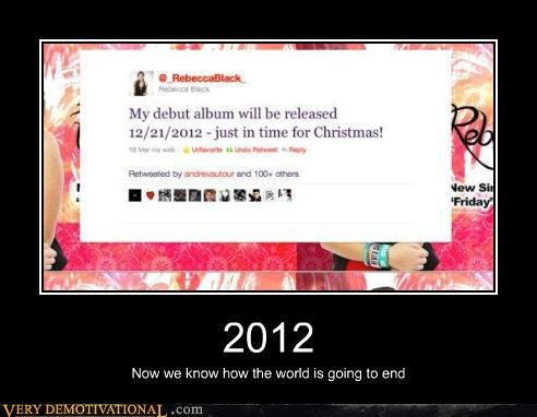 2012 christmas world ending