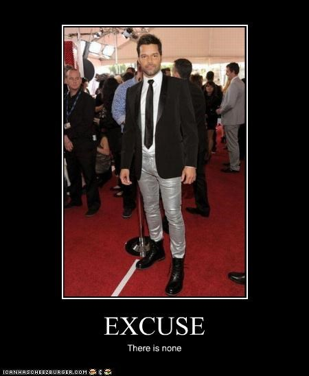 celeb demotivational funny Music ricky martin - 4574158336