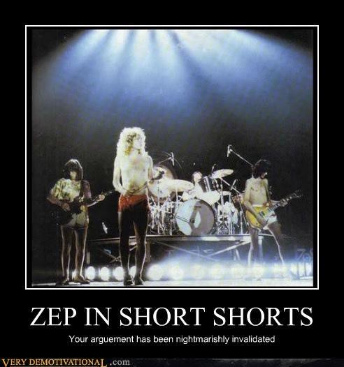 led zepplin short shorts - 4574536960