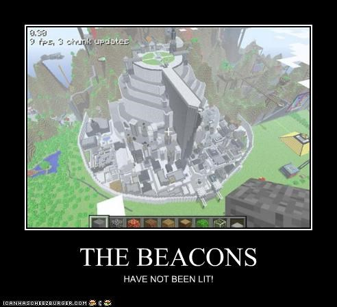 THE BEACONS HAVE NOT BEEN LIT!