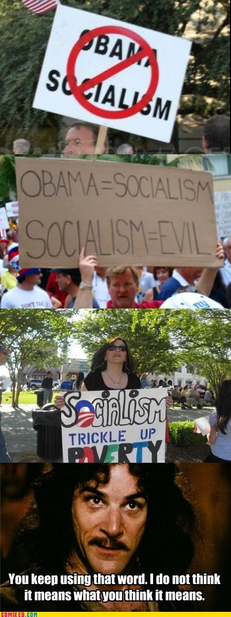 inigo montoya,princess bride,socialism