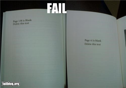 blank books deleting editing failboat g rated pages - 4575054848