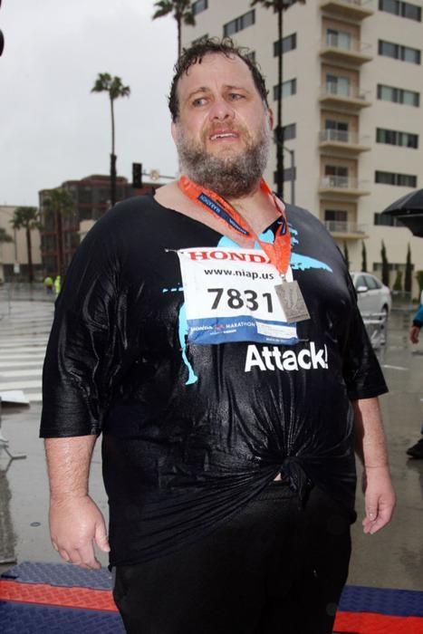 Inspirational Perspiratio,Kelly Gneiting,LA Marathon