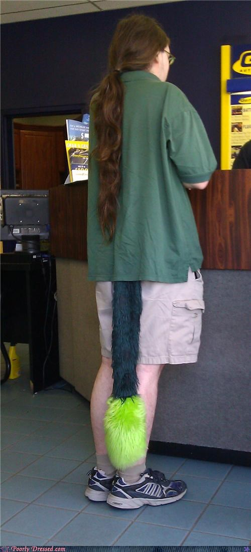 furry muppet tail weird wtf - 4576210176