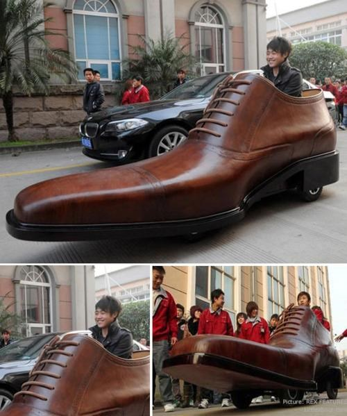 DIY Everybody Needs A Hobby Shoe-Shaped Car - 4576348160