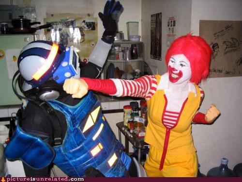 cyrax Mortal Kombat Ronald McDonald - 4576546560