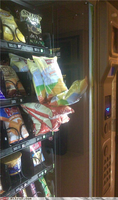 chips,error,rage,vending machine