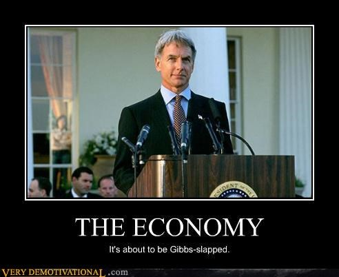 economy gibbs slap oh yeah west wing - 4576622592