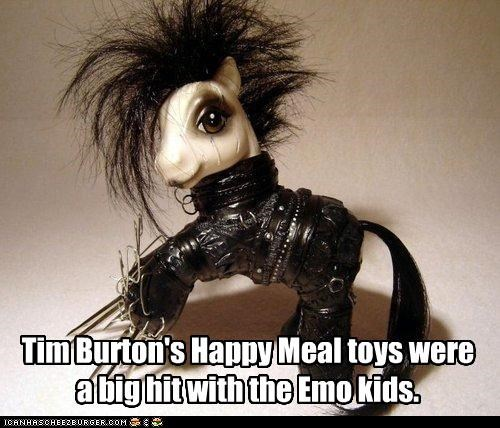 my little pony,tim burton