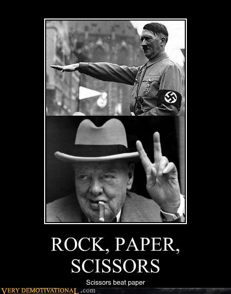 churchill,hitler,paper,rock,scissors