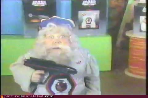 beard crazy guy laser tag wtf - 4576685568