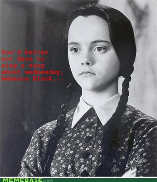 addams family Memes rebecca wednesday - 4576712704