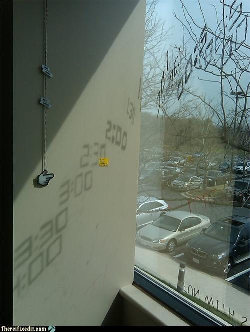 art clever clock not a kludge sundial - 4576847616