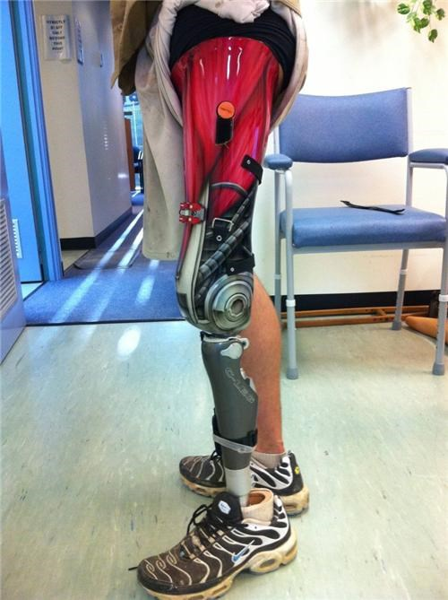 movies,Nerd News,prosthetic leg,prosthetics,terminator