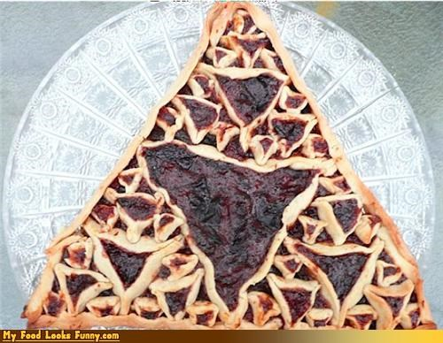 fractals geometry hamantaschen math Purim sierpinski triangles triangles