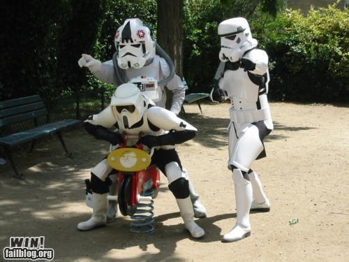 acting casual nerdgasm star wars stormtrooper - 4577302784