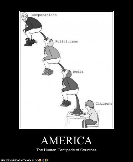 AMERICA The Human Centipede of Countries