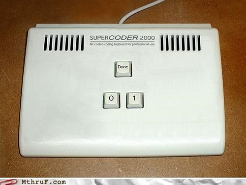 awesome binary coder coding device