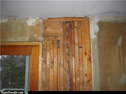 DIY home repair wood wtf - 4577733120