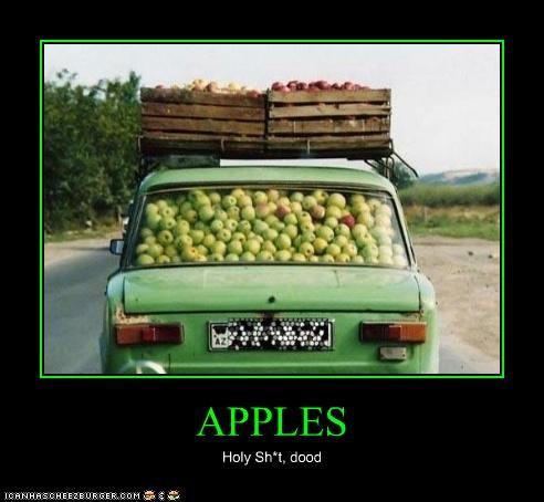 APPLES Holy Sh*t, dood