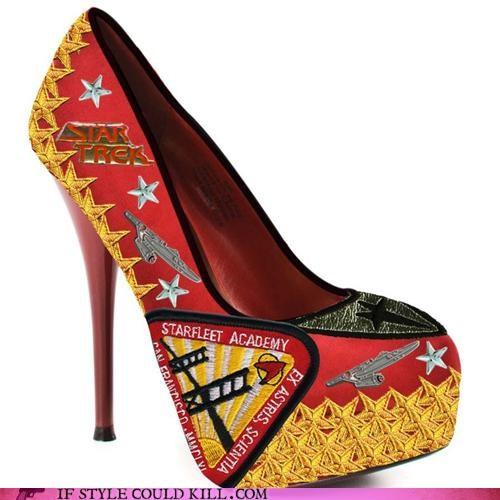 crazy shoes heels Star Trek - 4577872384