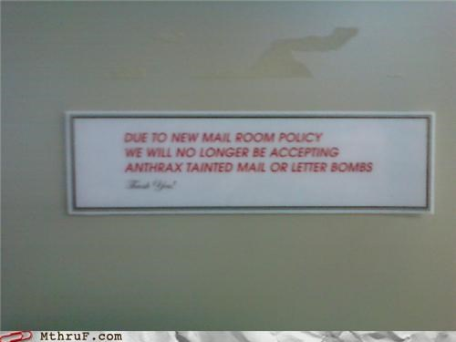anthrax,bombs,letter,mail,policy,sign