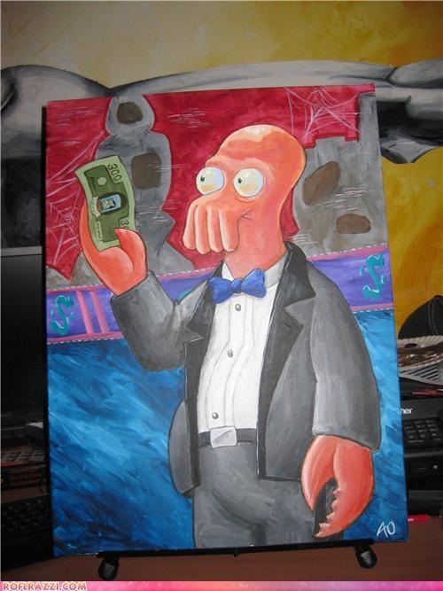 art,dr zoidberg,funny,futurama
