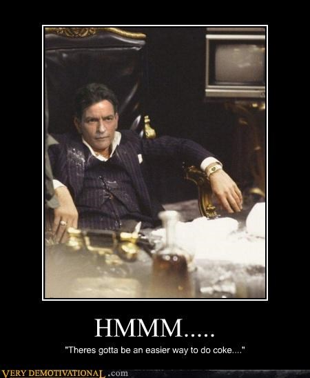 Charlie Sheen,drug stuff,scarface