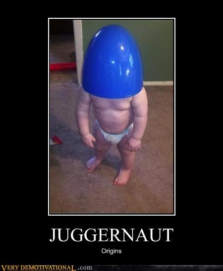 baby does that have-pecs juggernaut origins