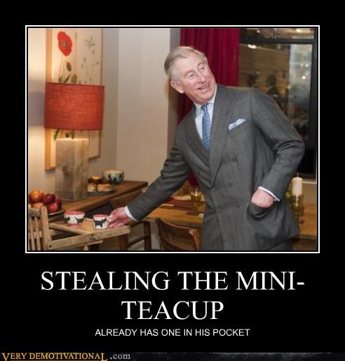prince charles,teacup,thieving