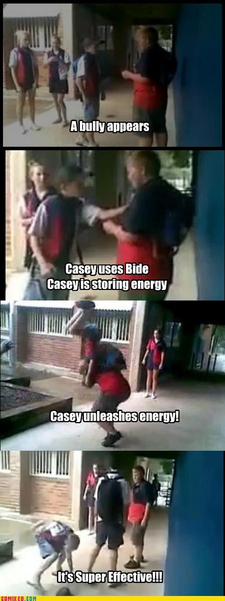 bully,casey,pile driver