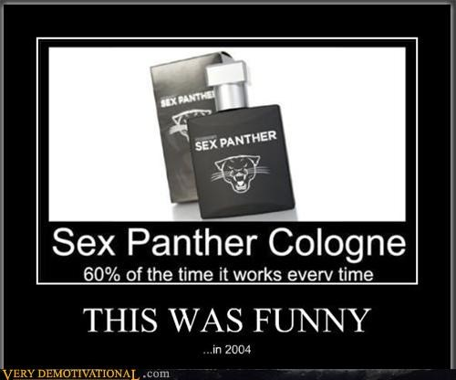 bad joke cologne funny sex panther