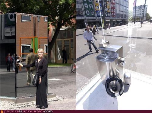 mirror public restroom wtf - 4581645824