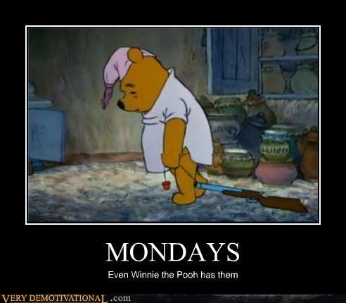 gun mondays Sad winnie the pooh - 4581716224