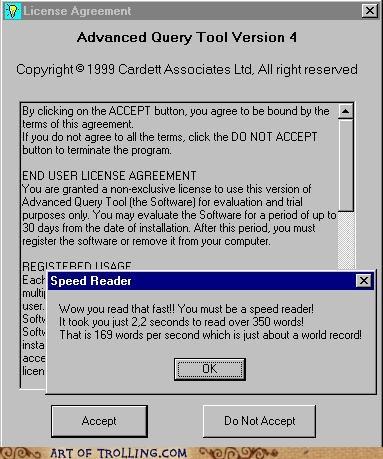 accept speed reader user agreement - 4581786112