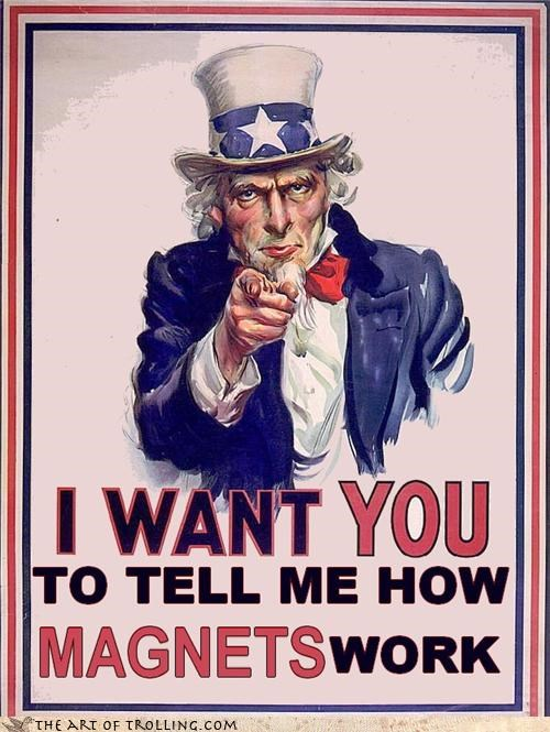 i want you,magnets,mormon,Uncle Sam
