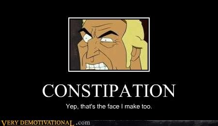 brock samson,constipation,Venture Bros