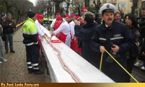 long,longest,record,sausage,world record