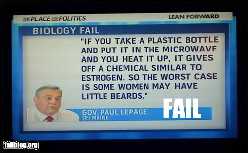 biology failboat g rated lady business plastic politics quote really science television - 4582266368