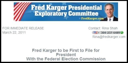 2012 Presidential Electio,equality for all,Fred Karger,LGBT rights